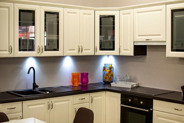 Newly Refinished Kitchen Cabinets
